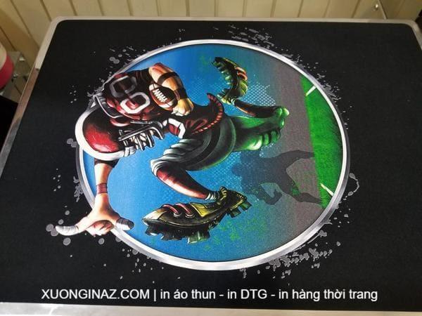 In áo thun DTG - công nghệ in phun trực tiếp lên vải