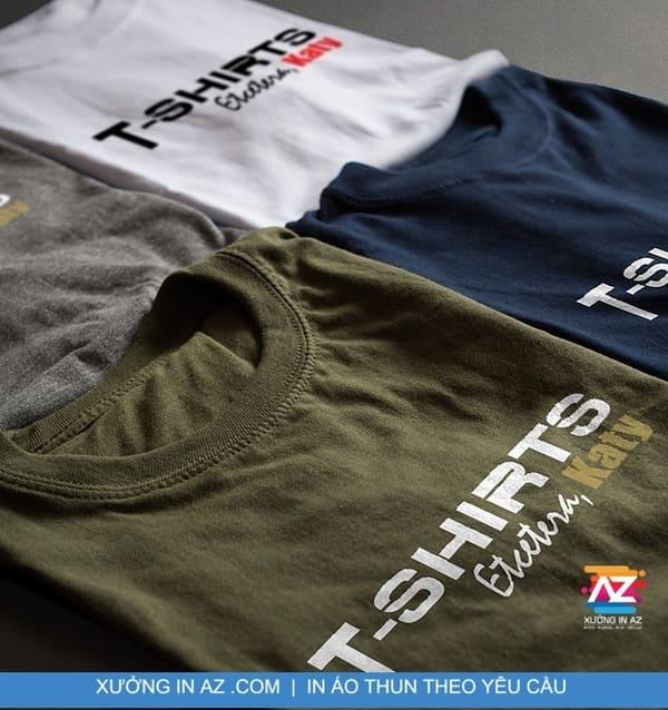 Xưởng in áo thun đồng phục quận Tân Bình bao chất, giá tốt!