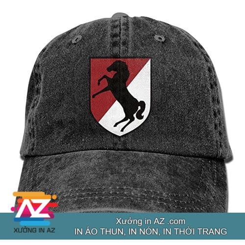 Hỗ trợ thiết kế mẫu dù khách hàng in nón theo yêu cầu số lượng ít